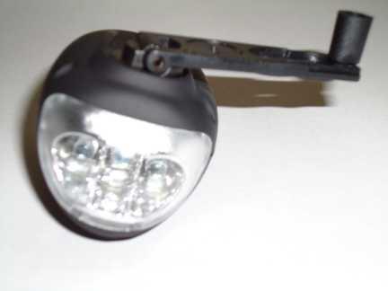 Dynamo Light Crank Lever