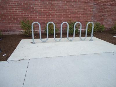 Modern Style Bike Rack