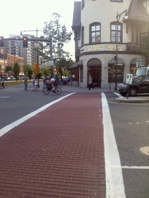 Faux Brick Crosswalk