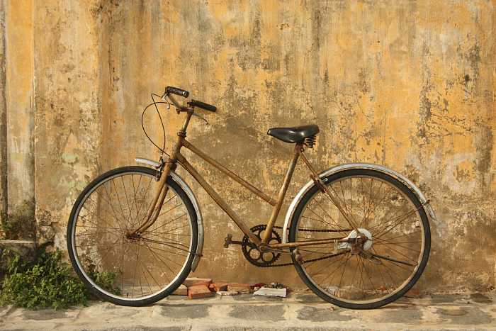 Brown Bicycle