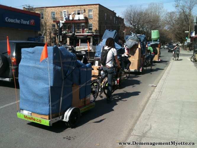 Déménagement Myette Bicycle Moving Company
